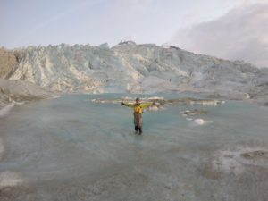 Alaska Glacier Swim